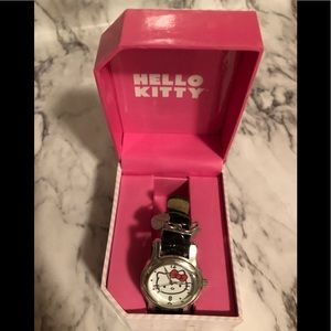 Hello kitty black watch